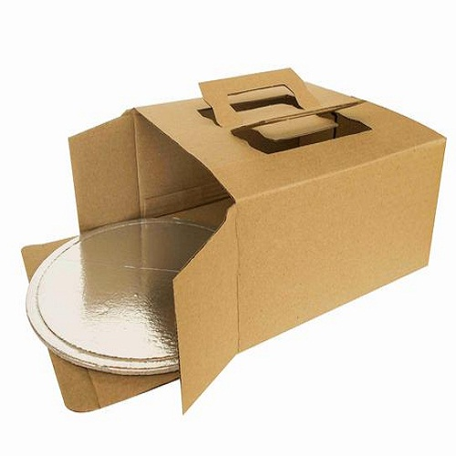 WHOLESALE FOOD PAPER BOX WITH TRAY FOR 10 INCH CAKE