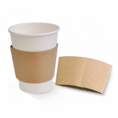 12OZ COFFEE PAPER CUPS WITH PAPER SLEEVE